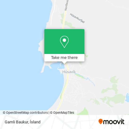 Gamli Baukur map