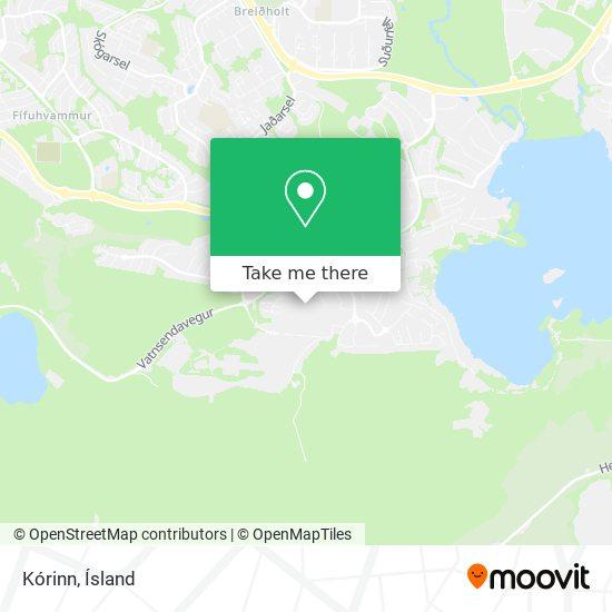Mapa Kórinn