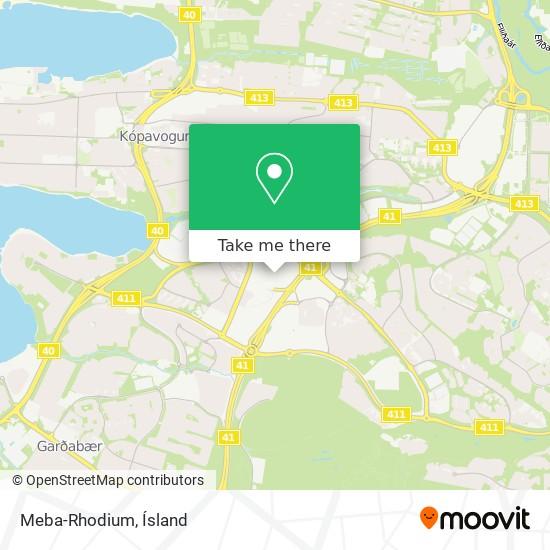 Meba-Rhodium map