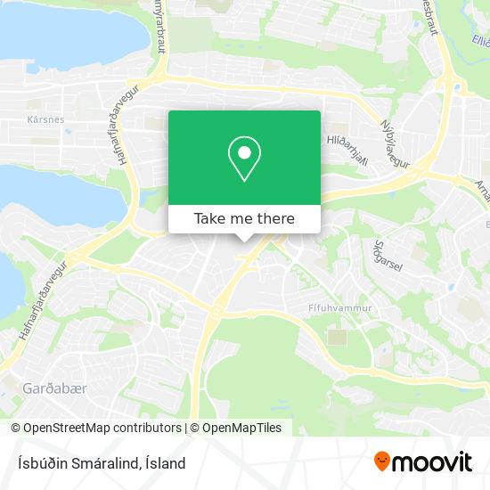 Ísbúðin Smáralind map