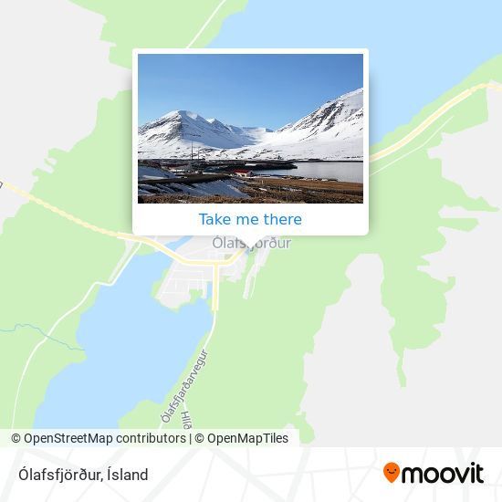 Ólafsfjörður map