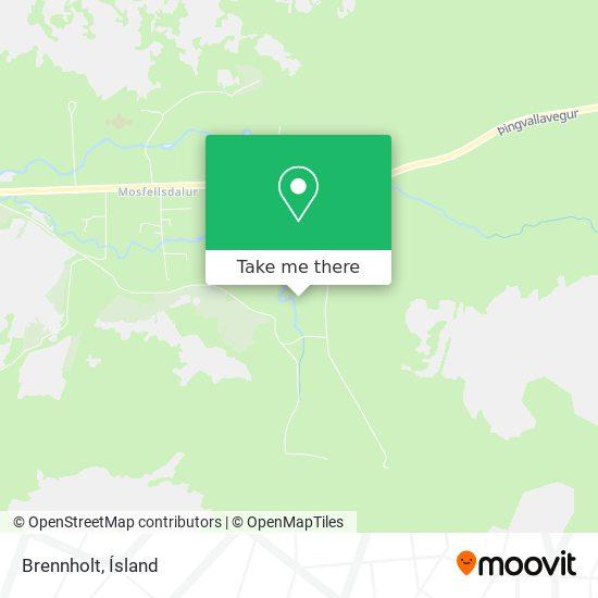 Brennholt map