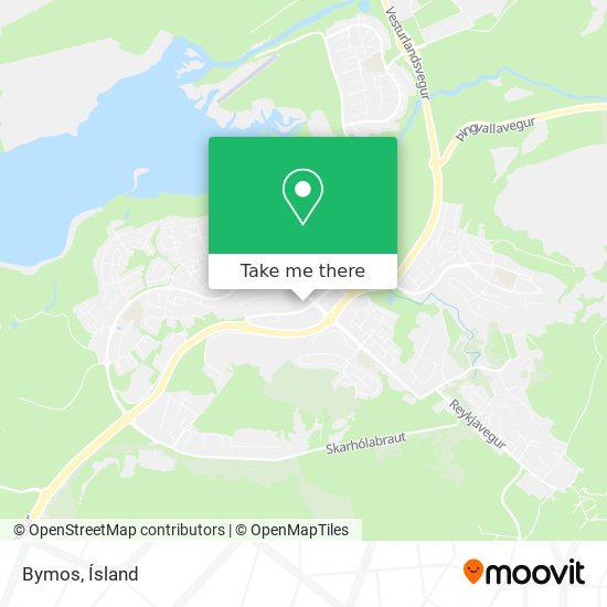 Bymos map