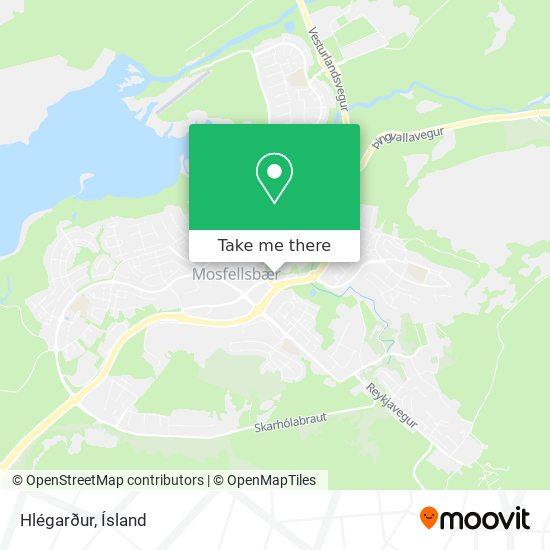 Hlégarður map