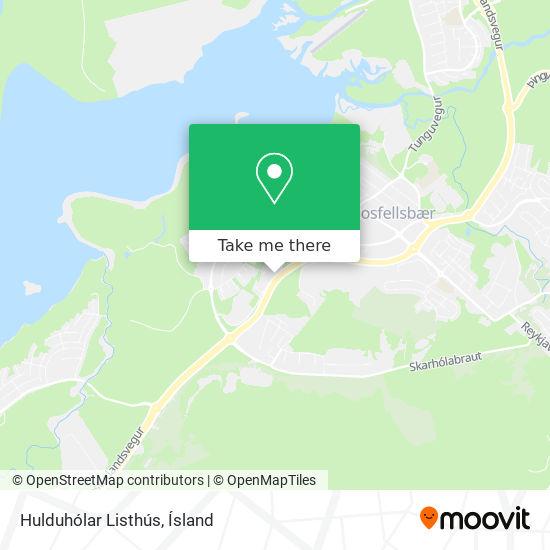 Hulduhólar Listhús map