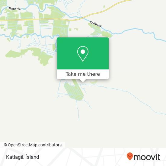 Katlagil map