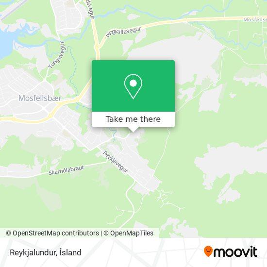 Reykjalundur map