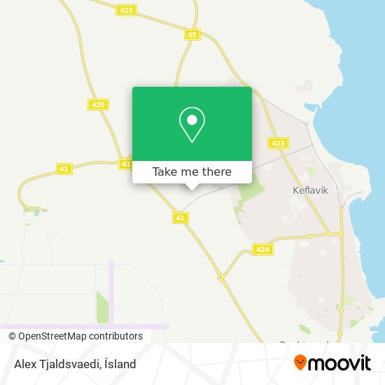 Alex Tjaldsvaedi map