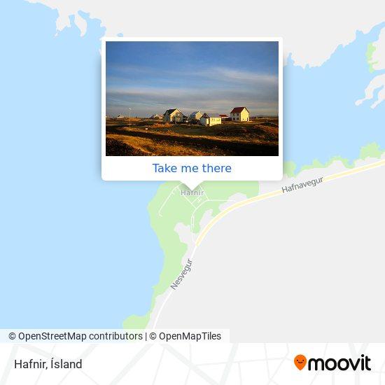 Hafnir map