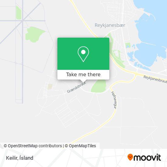 Keilir map