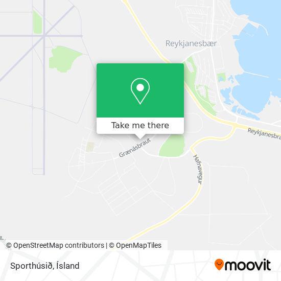 Sporthúsið map