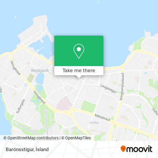 Barónsstígur map