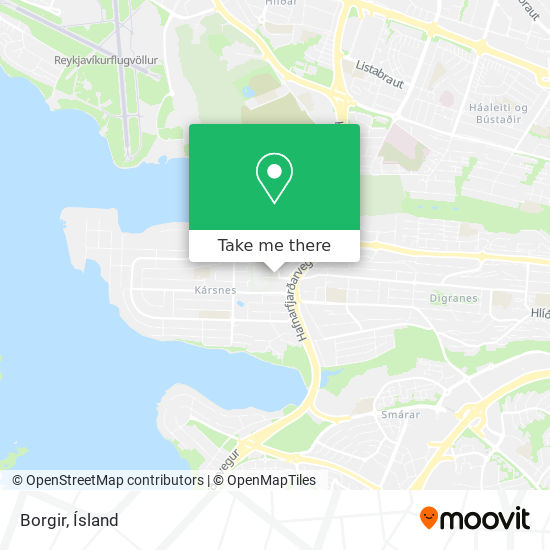 Borgir map