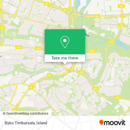 Byko Timbursala map