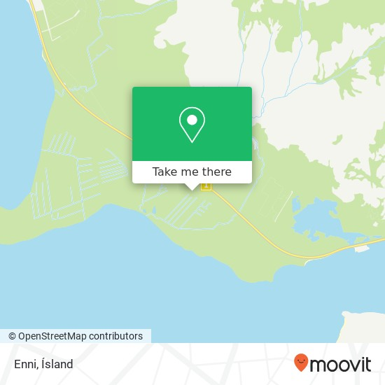 Mapa Enni