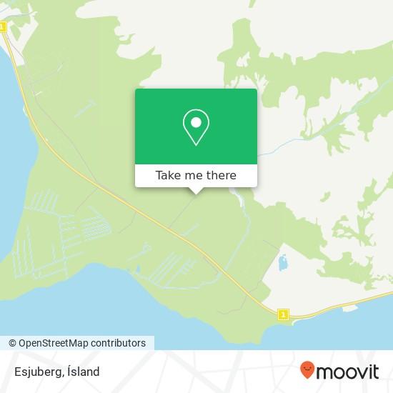 Esjuberg map