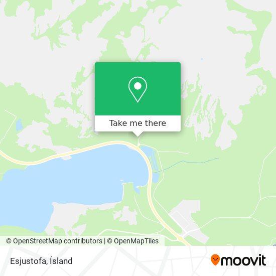 Esjustofa map