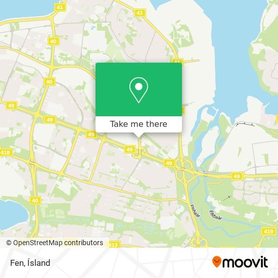 Fen map