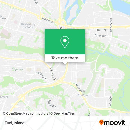 Funi map