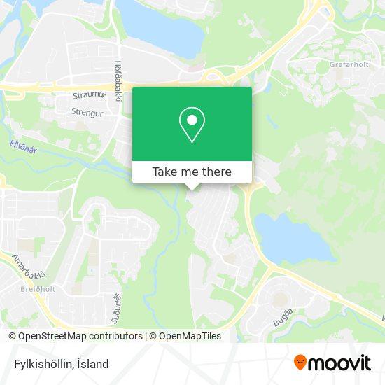Fylkishöllin map