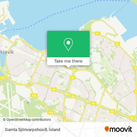Gamla Sjónvarpshúsið map