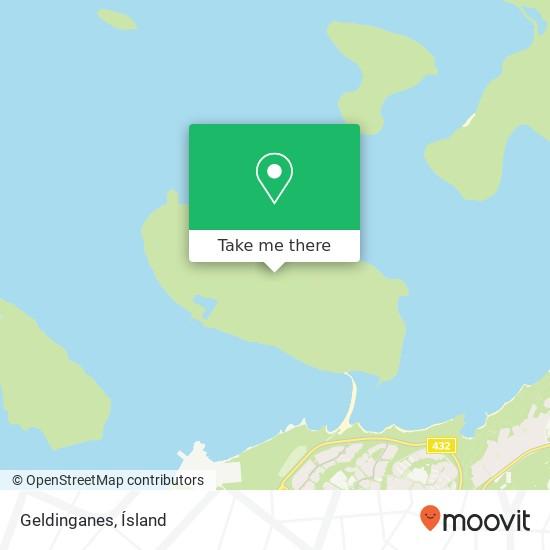 Geldinganes map