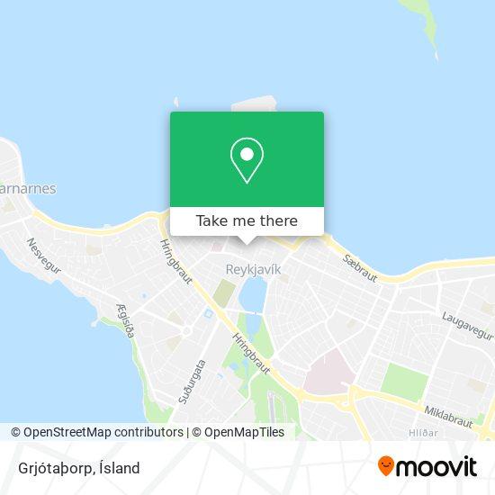 Grjótaþorp map