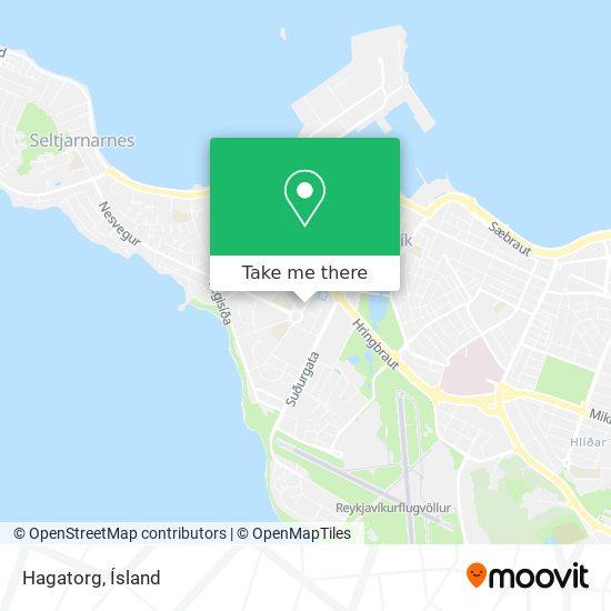 Hagatorg map