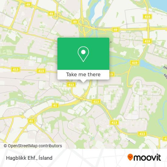 Hagblikk Ehf. map