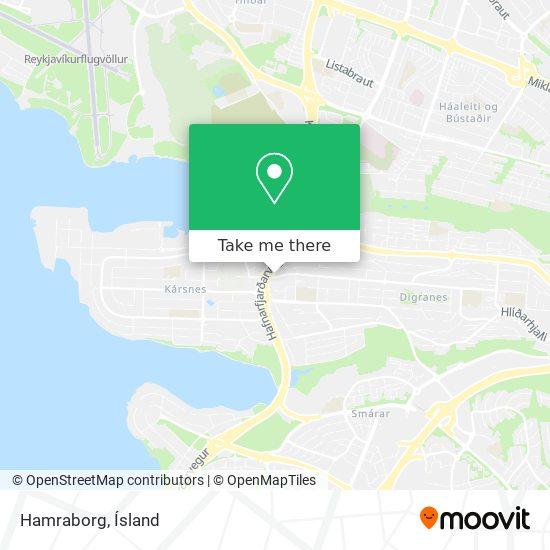 Hamraborg map