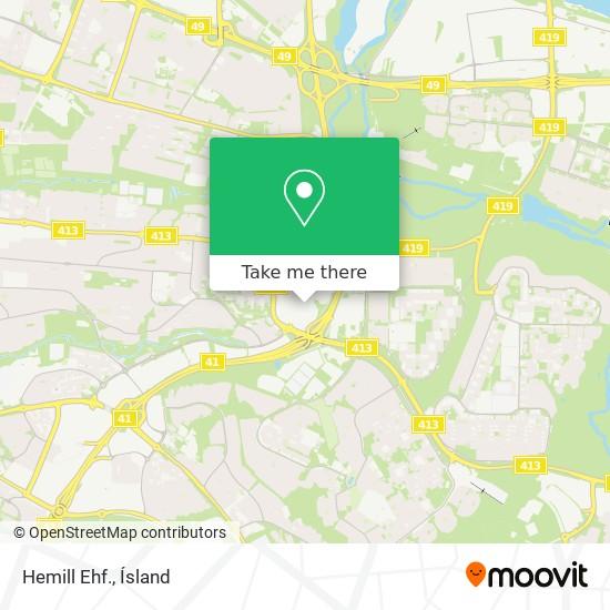 Hemill Ehf. map