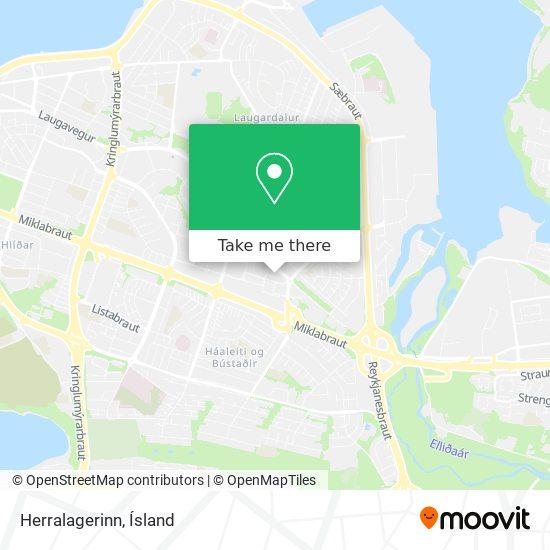 Herralagerinn map