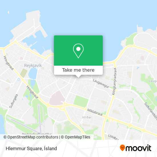 Hlemmur Square map