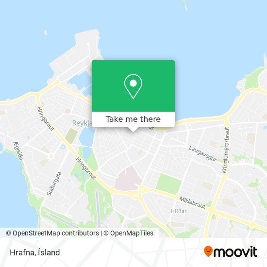 Hrafna map