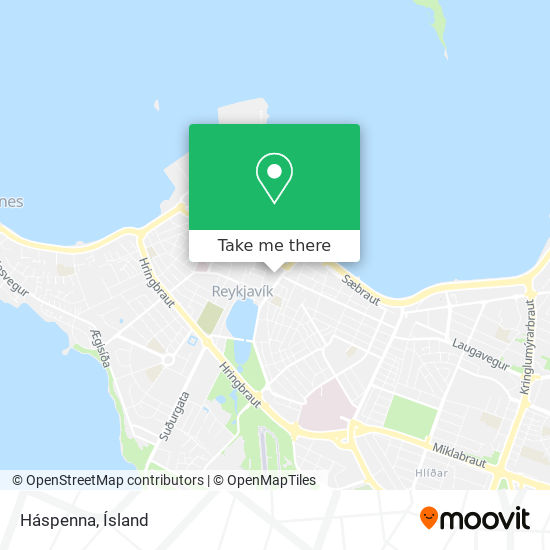 Háspenna map
