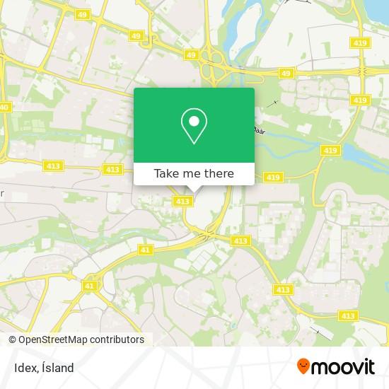 Idex map