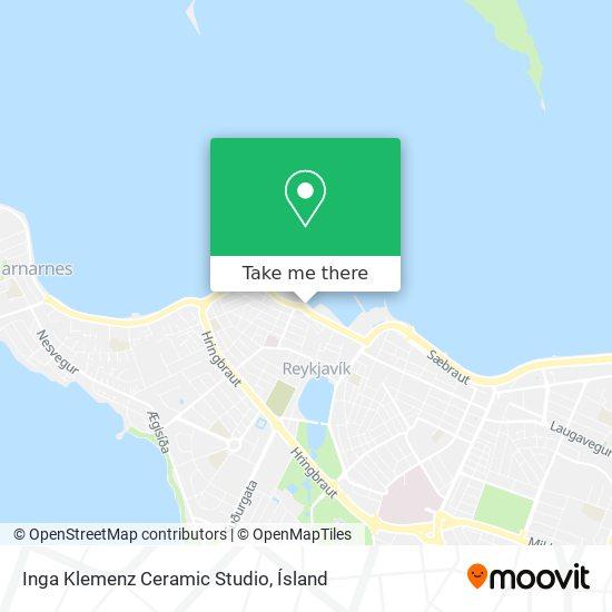 Inga Klemenz Ceramic Studio map