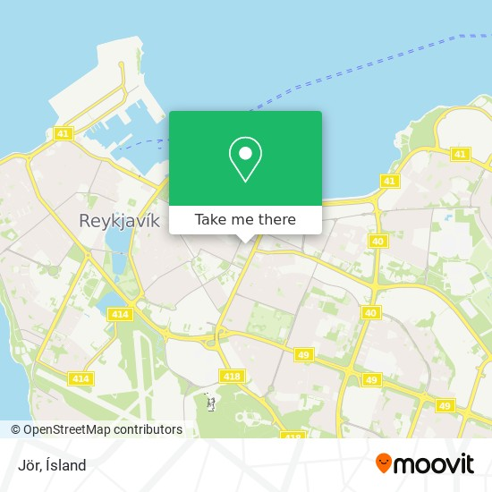 Jör map