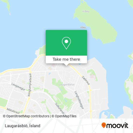 Laugarásbíó map