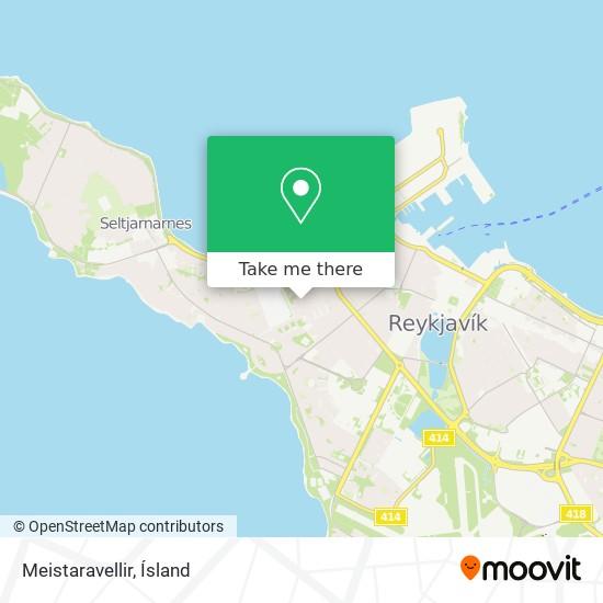Meistaravellir map