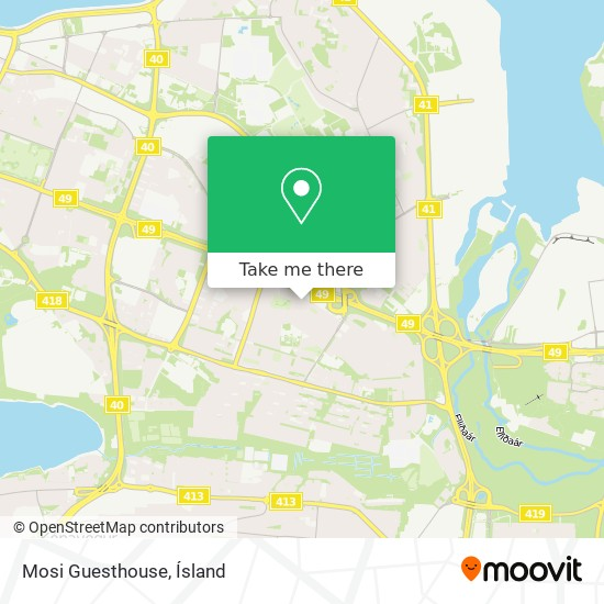 Mosi Guesthouse map