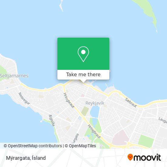 Mýrargata map