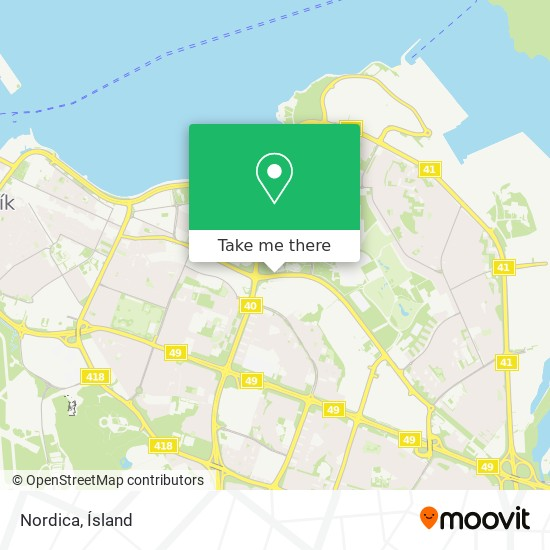 Nordica map