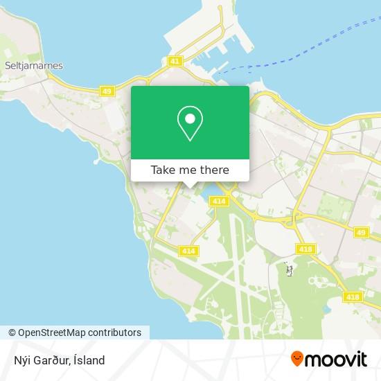 Nýi Garður map