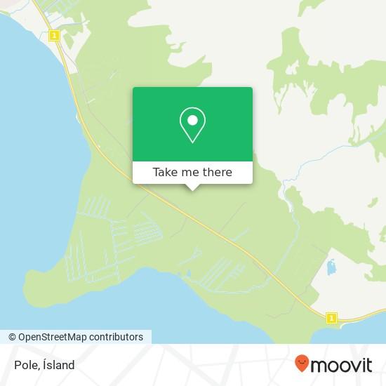 Pole map