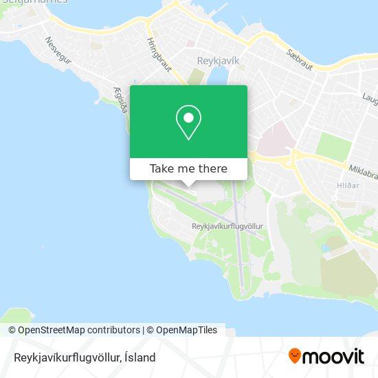 Reykjavíkurflugvöllur map