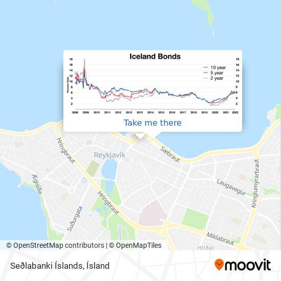 Seðlabanki Íslands map