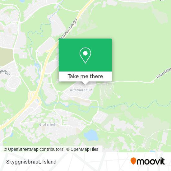 Skyggnisbraut map
