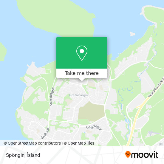 Spöngin map