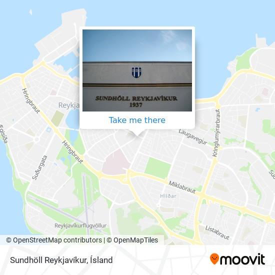 Sundhöll Reykjavíkur map